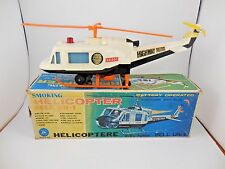 Alps Bell UH-1 Huey Highway Patrol Helicopter Battery Operated in Box Japan