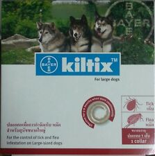 Bayer Kiltix Tick & Flea Control Dog Size L 70cm Lasts 5-6 Months Dog Collar