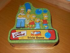 NEW SEALED THE SIMPSONS TRIVIA GAME AND CAST POSTER by CARDINAL GAMES