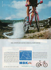 Publicité 1991  Vélo MBK high power frame HPF