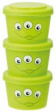 Toy Story Little Green Men Tupperware Lunch Container 240ml x 3 Made in Japan