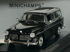 Minichamps Volvo 121 Amazon Break, schwarz - 430 171016