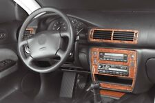 VW Passat 3B B5 BLACK WOOD LOOK DASH KIT (PREWOODEC Richter Germany) VOLKSWAGEN