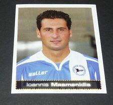 56 MASMANIDIS ARMINIA BIELEFELD PANINI FUSSBALL 2007-2008 BUNDESLIGA FOOTBALL