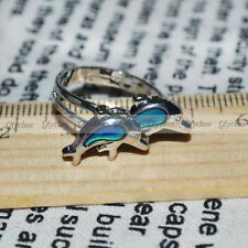 New Fashion Chic Dolphin Ring Emotion Feeling Color Changing Mood Ring Wholesale