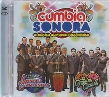 CD - Cumbia Sonora NEW La Musica Que Baila Todo Mexico 2 CD  - FAST SHIPPING !