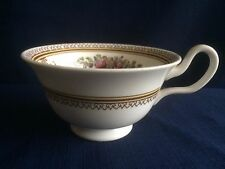 Wedgwood Columbia Enamelled  (W595)  peony tea cup (second- no green rim paint)
