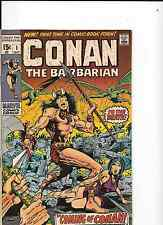 CONAN THE BARBARIAN ISSUE ONE 1st Print  BY MARVEL COMICS.