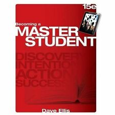 Textbook-Specific CSFI: Becoming a Master Student by Dave Ellis (2014,...