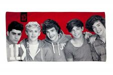 ONE DIRECTION 'HEARTTHROB' PRINTED BEACH TOWEL (FREE P+P)