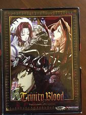 Trinity Blood DVD Box Set 6 DVD Complete Collection EXCELLENT!