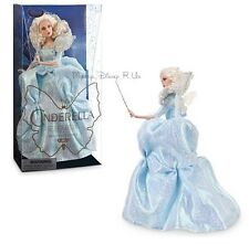 "Disney Store Fairy Godmother Film Collection 11""  Doll Live Action Cinderella"