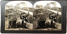 Keystone Stereoview of Tombs along Appian Way, ITALY Type A from 1930's T600 Set