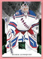 11/12 Upper Deck Artifacts Emerald #47 Henrik Lundqvist #38/99