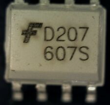 5 X Fairchild mocd207m mocd207 Doble opto-coupler Smd d207 S08 opto-isolator