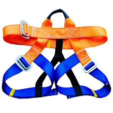 Rock Climbing Safety Belt Strap Harness Bust Waist Rappelling Equipment Kit