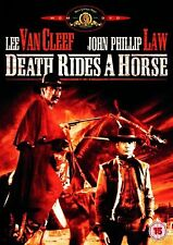 Death Rides A Horse  Lee van Cleef, John Phillip Law NEW AND SEALED UK R2 DVD