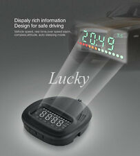 A1 HUD Head Up Display Speeding Warning Universal GPS Plug Play Over Speed Alarm