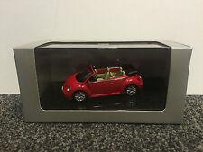 Volkswagen VW New Beetle Cabrio Rot Uni 1:43 AUTOart