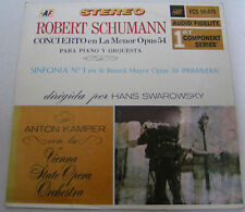 Robert Schumann - Concerto in A Minor For Piano and Orchestra HANS SWAROWSKI