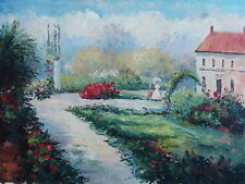 """Southern Day Original Hand Painted 12""""x16"""" Oil Painting Landscape Art"""