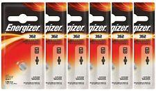 6 Energizer 362 361 SR721SW AG11 LR721 V362 V361 D362 D361 SP361 SP362 Batteries