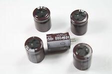 10-PCS Nichicon Electrolytic Capacitors PJ 680uF 50V 105c