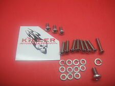 KILLER MOTORCYCLE PRODUCTS CV CARB STAINLESS BUTTON HEAD SCREW KIT