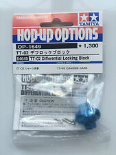 Tamiya 54649 TT-02/TT02 Differential Locking Block (TT-02B/TT-02D) NIP