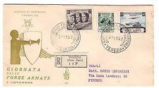 FDC VENETIA  CLUB  1952  -  FORZE ARMATE   VIAGGIATA