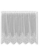 Heritage Lace BLOSSOM Tier 42x30 WHITE Made in USA