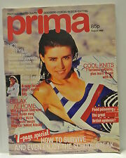 Prima  Magazine, August, 1988. How to survive and even enjoy the school break.