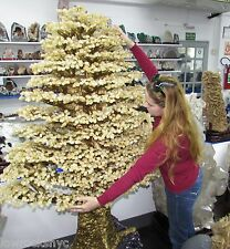 Biggest on Ebay Hand Made Sculpture of CITRINE TREE 274 Kg = 604 Lbs 72inch Tall