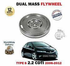 FOR HONDA CIVIC + TYPE S 2.2 CDTi N22A2 FN33 FK37 2006-  NEW DUAL MASS FLYWHEEL