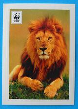 FIGURINA COOP WWF IL GIRO DEL MONDO - N.78 - LEONE