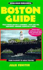 Boston Guide (Open Roads Boston Guide),GOOD Book
