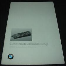 Zusatz Betriebsanleitung Autotelefon GSM BMW 7er E 38 / E38 Handbuch Stand 1995