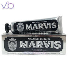MARVIS Toothpaste Amarelli Licorice 75ml (Black, Whitening Made in Italy, Mint)