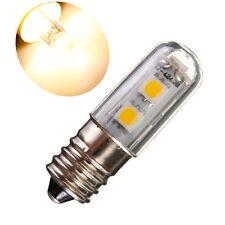 E14 1W=15W 7 5050 SMD 80LM 2800-3200K Blanco Cálido Bombilla LED Refrigerator