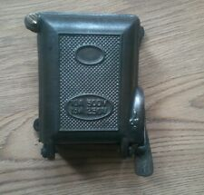 VINTAGE INDUSTRIAL CRABTREE FACTORY CAST IRON FUSE BOX  LIGHT SWITCH