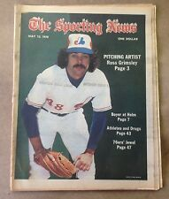 The Sporting News: Ross Grimsley PITCHING ARTIST MAY 13, 1978