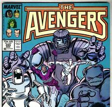 The AVENGERS #289 with Sub-Mariner & She-Hulk from Mar 1988 in VF con. NS