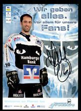 Marc Beaucage Hamburger Freezers 2006-07 Original Signiert Eishockey + A 97584