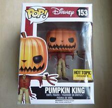Funko Pop! Nightmare Before Christmas 153 Pumpkin King Hot Topic Exclusive GITD