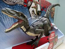 JURASSIC WORLD BLUE VELOCIRAPTOR DINOSAUR ACTION FIGURE PARK BNIB GROWLER SOUNDS