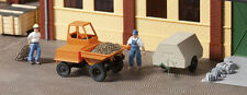 Auhagen Dumper and Compressor Trailer 41641 HO Scale (suit OO also)