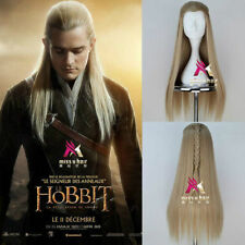 Hobbit Legolas Greenleaf Remarkable Long Blonde Cosplay Party Wig Hair
