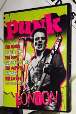 Punk in London ALL regions: CLASH; X-Ray Spex;The Jam; CHELSEA, Boomtown Rats...