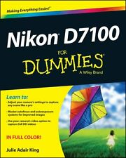 Nikon D7100 For Dummies by Julie Adair King 9781118530467 (Paperback, 2013)