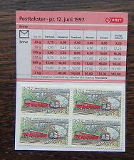 Denmark 1997 Anniversary of Copenhagen - Roskilde Booklet MNH